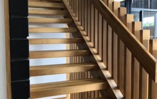 Internal Wooden Hand Rails by Top Flyte Systems
