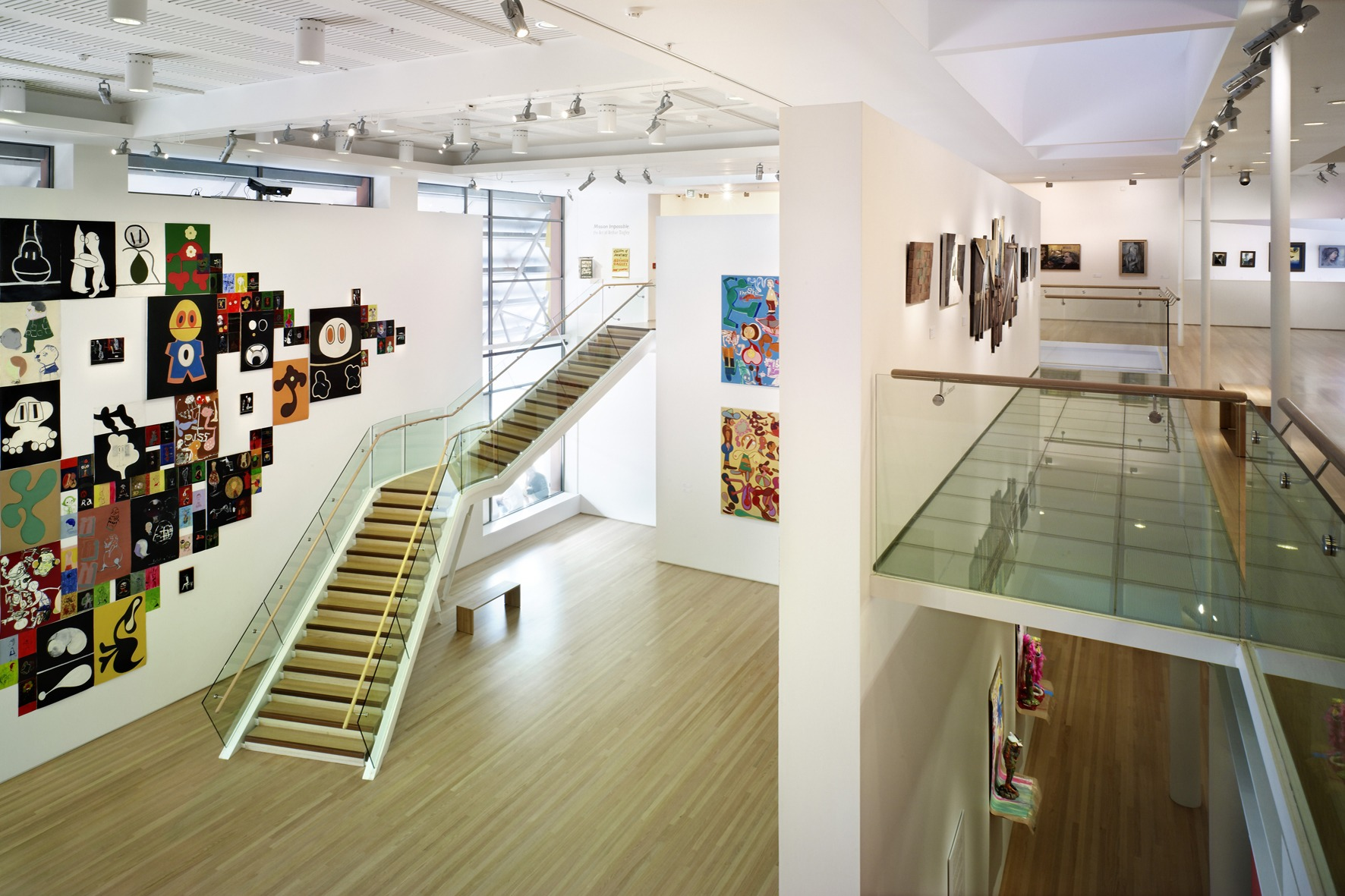 Tauranga Art Gallery Stairs & Handrails by Top Flyte Systems