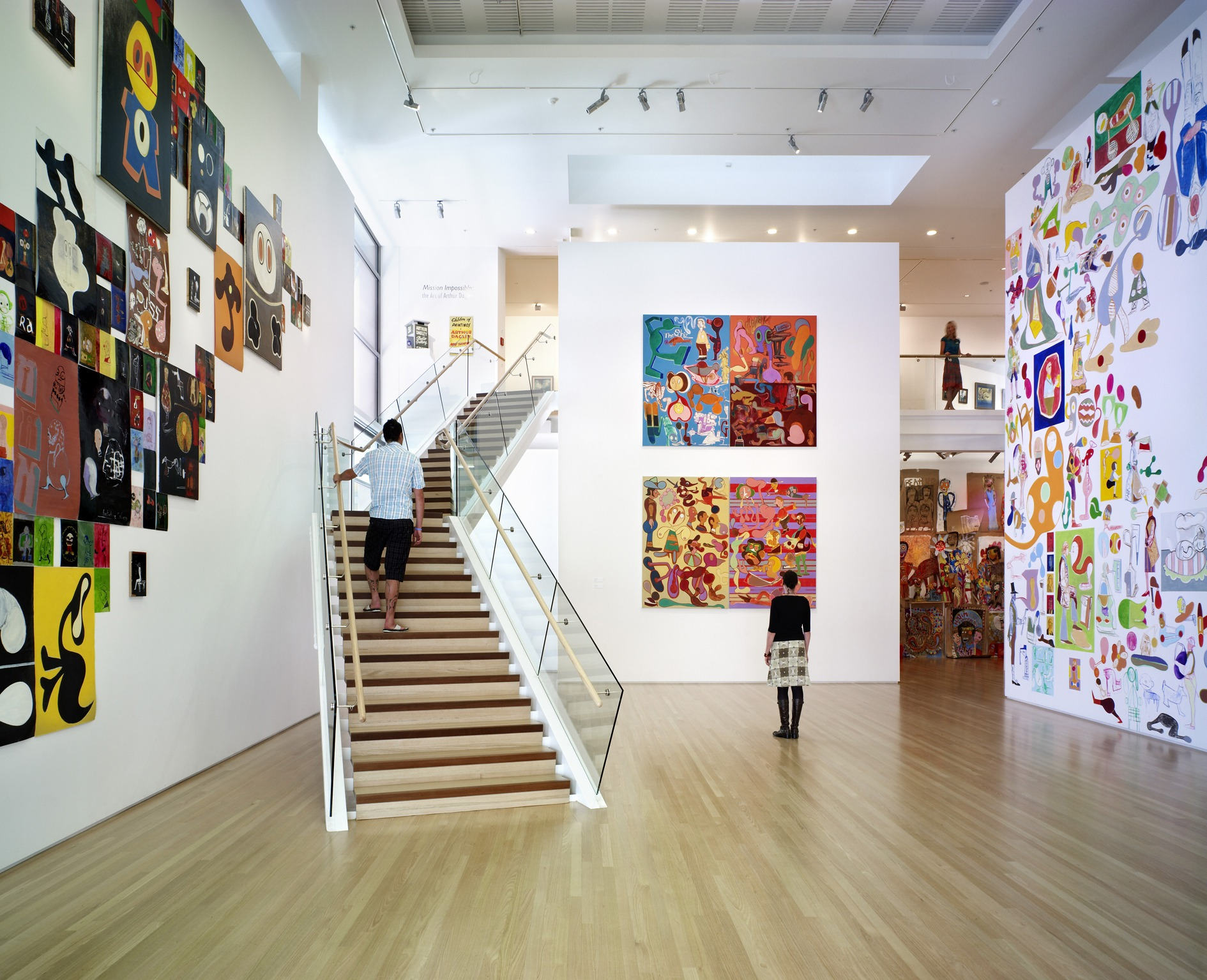 Tauranga Art Gallery Stairs by Top Flyte Systems
