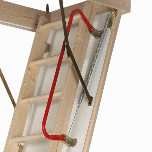 Attic Ladder Handrail by Top Flyte Systems