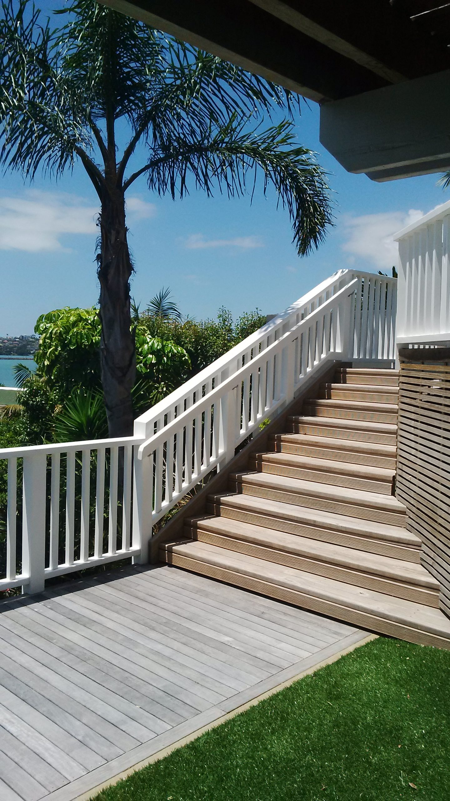 Exterior Wooden Stairs by Top Flyte Systems