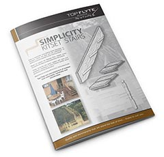 Simplicity Kitset Stairs by Top Flyte Systems
