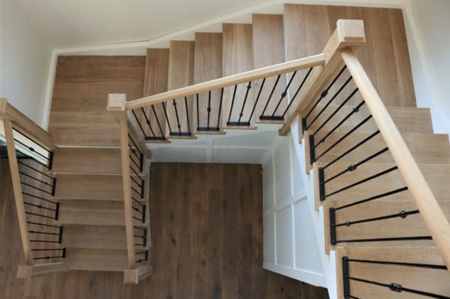 Top Flyte - White Oak Architectural Stairs